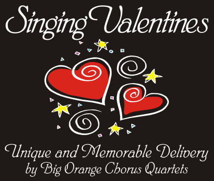 singing valentines from big orange chorus quartets